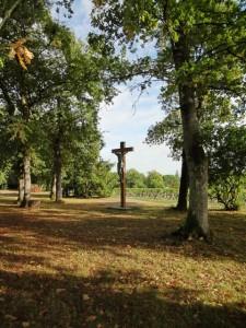 Chemin vers le Christ de Royaumont - La Solitude