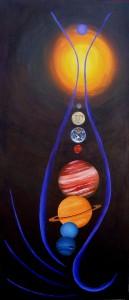 Solar System Doodle © 2007 Sarah Noble