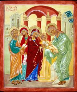 Presentation de Jésus au Temple