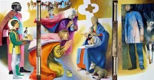Arcabas - Adoration des Mages