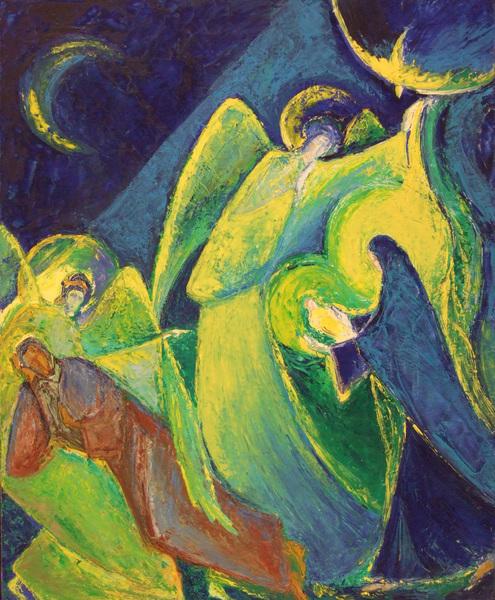 Aleteos de volvoreta: El sueño de San José #imagenes