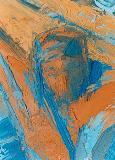 Christ en croix  (2) - oeuvre de Macha Chmakoff