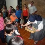 Monastère de Posadas - oeufs de Pâque pour les enfantsd