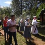 Procession des Rameaux - monastère de Posadas