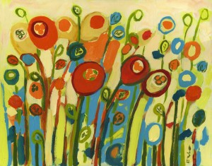 Growing Poppies by Jennifer Lommers