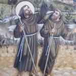 St François et un compagnon