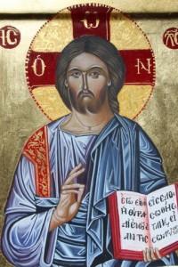 Icône byzantine  du Christ
