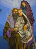 Ste Ane et St Joachim avec Marie