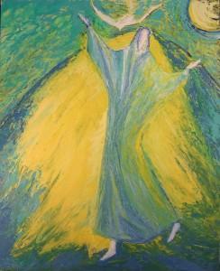 Magnificat - peinture de Macha Chmakoff
