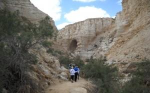Marche dans le désert du Néguev