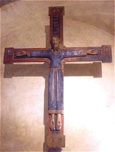 Christ  roman - Eglise de la llagonne