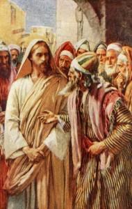 Jésus et le docteur de la Loi