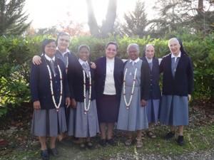 Le nouveau Conseil avec Sr Ana-Maria , Françoise et M.Dolores (2)