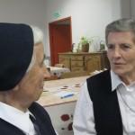 Sr Françoise Daigneault et Sr Maria-Jesus Amondarain