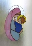 La Vierge et l'Enfant - vitrail (2)