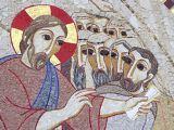 Le Christ et les apôtres - Lourdes