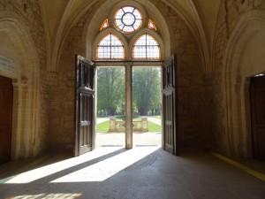 Entrée de l'abbaye de Royaumont