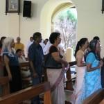 Félicitations aux deux professes par l'Assemblée (5)