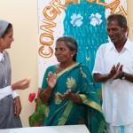 Sr Rishmala et ses parents