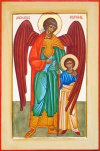 Archange St Raphael avec Tobie