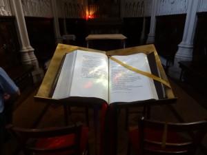 Bible  - séminaire d'Issy