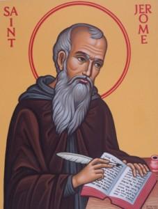 icône de St Jérôme