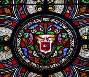 Blason de la Sainte-Famille - Abbaye de Royaumont