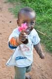Enfant africain- joie