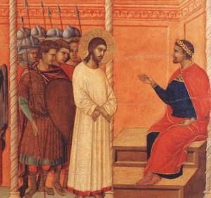 Jésus et Pilate
