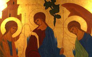 Icône de la Trinité - Monastère de Urt