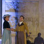Veillée - Mme Noailles et son fils Pierre Bienvenu