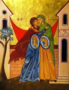 Icône de la Visitation - eglise-catholique-algerie.org